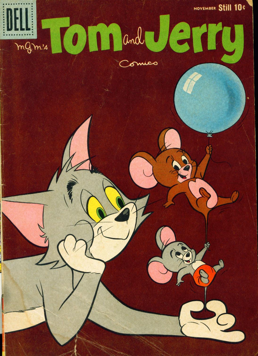 Tom & Jerry Comics 196 Page 1