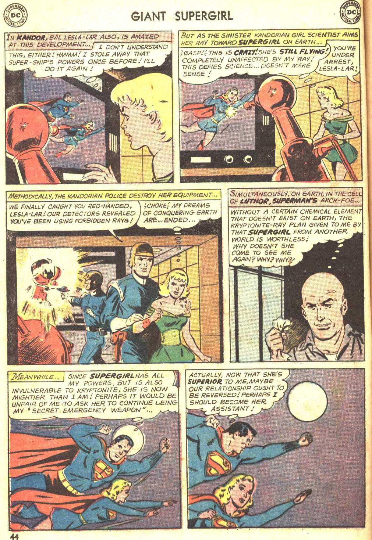 Read online Action Comics (1938) comic -  Issue #360 - 43
