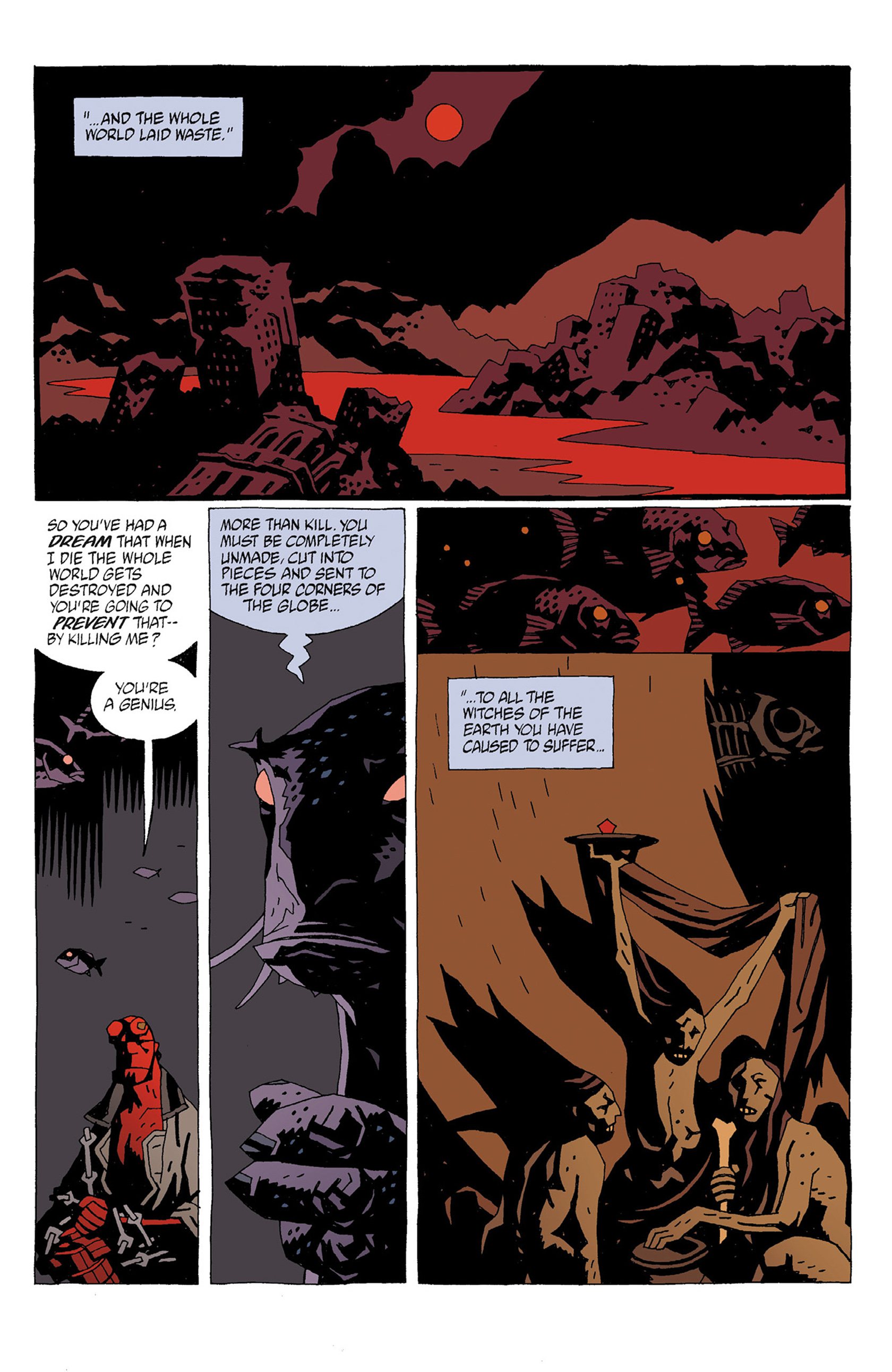Read online Hellboy: Strange Places comic -  Issue # TPB - 43