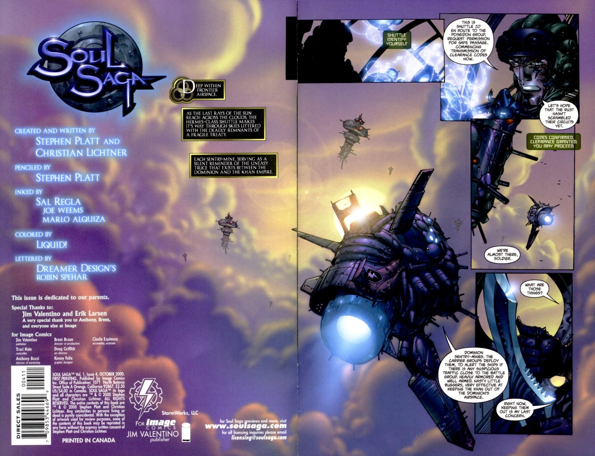 Read online Soul Saga comic -  Issue #4 - 2