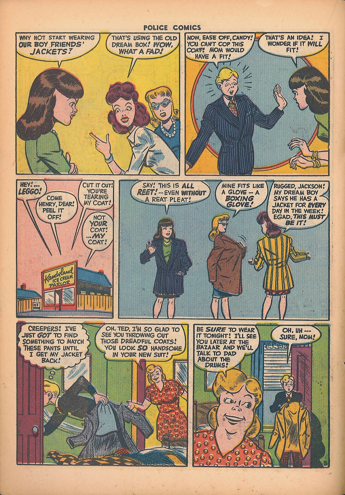 Police Comics issue 44 - Page 32