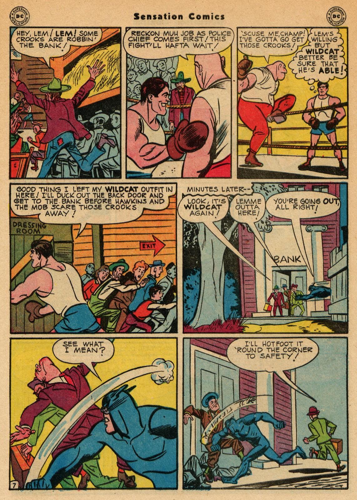 Read online Sensation (Mystery) Comics comic -  Issue #51 - 48