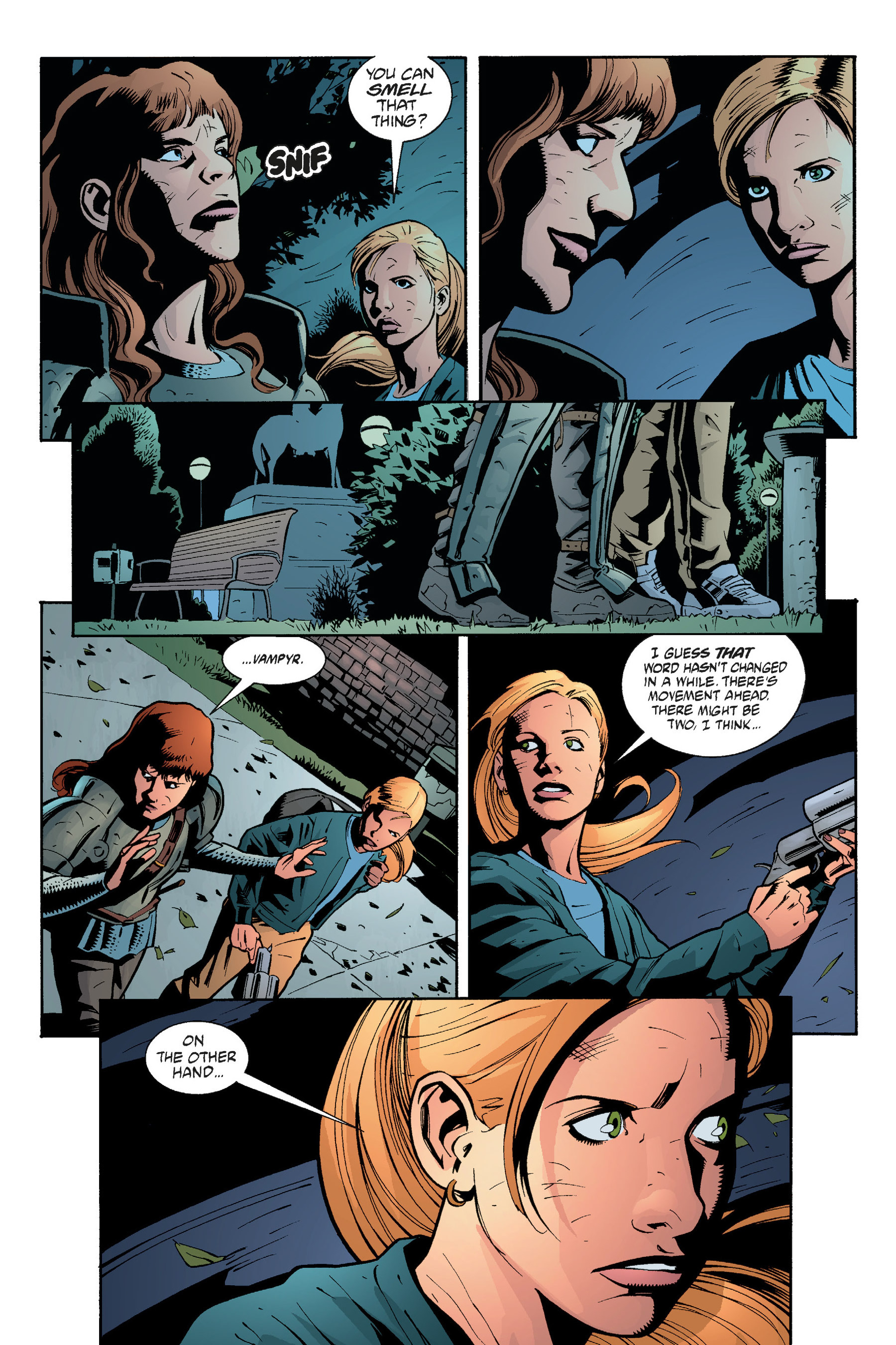 Read online Buffy the Vampire Slayer: Omnibus comic -  Issue # TPB 5 - 268