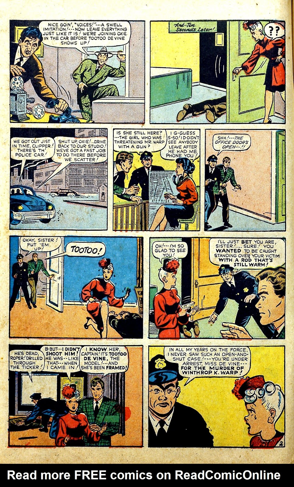 Read online Famous Funnies comic -  Issue #185 - 9