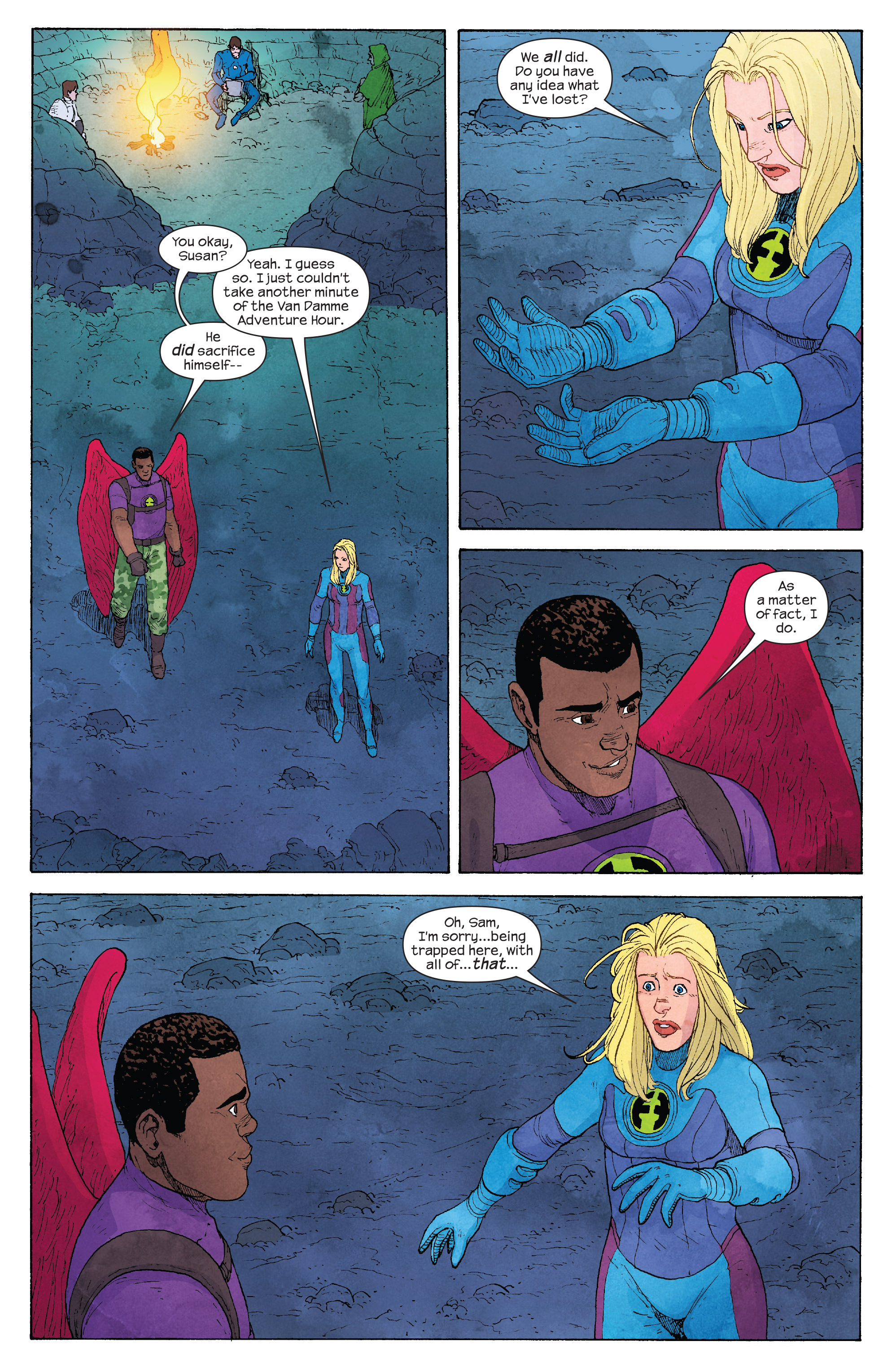 Read online Ultimate FF comic -  Issue #4 - 6
