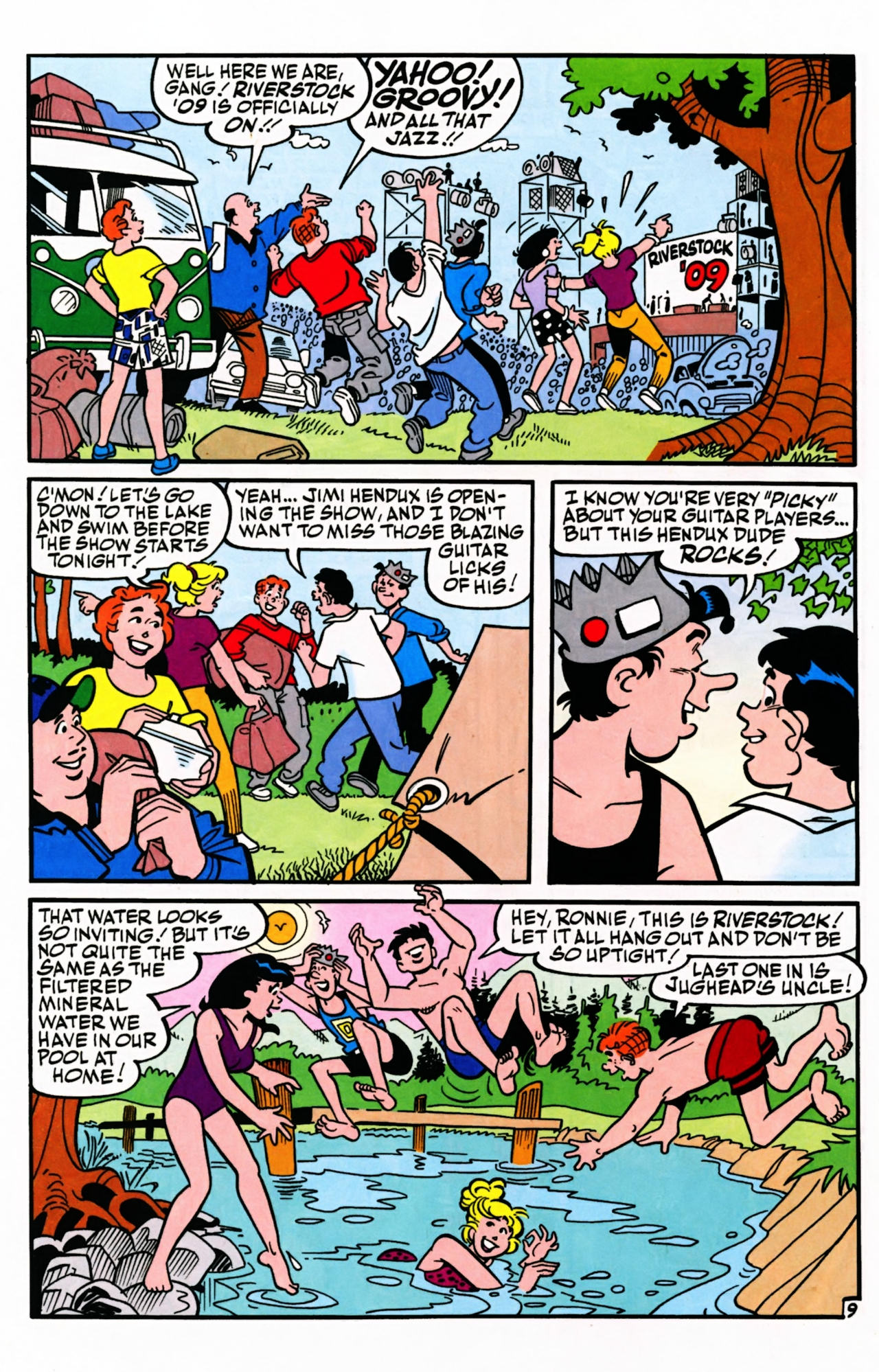Read online Archie (1960) comic -  Issue #599 - 12