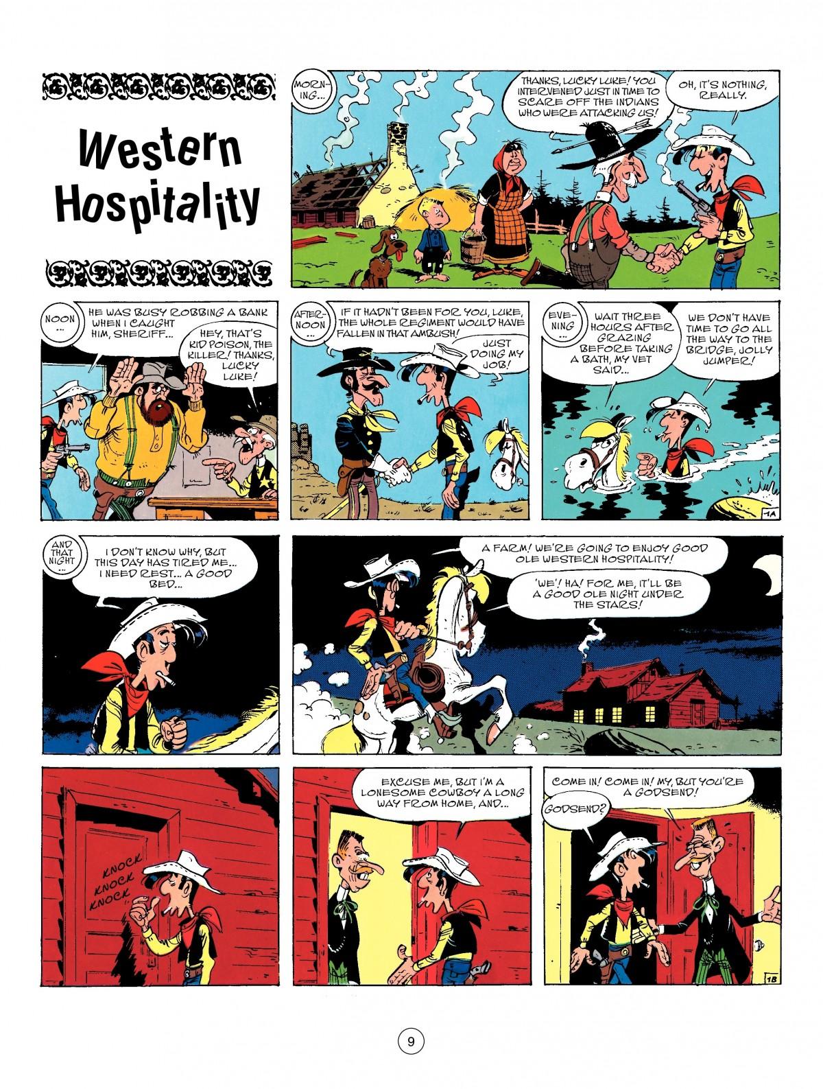 Read online A Lucky Luke Adventure comic -  Issue #50 - 9