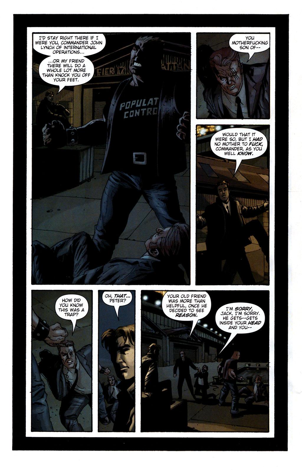 Read online Sleeper: Season Two comic -  Issue #5 - 18