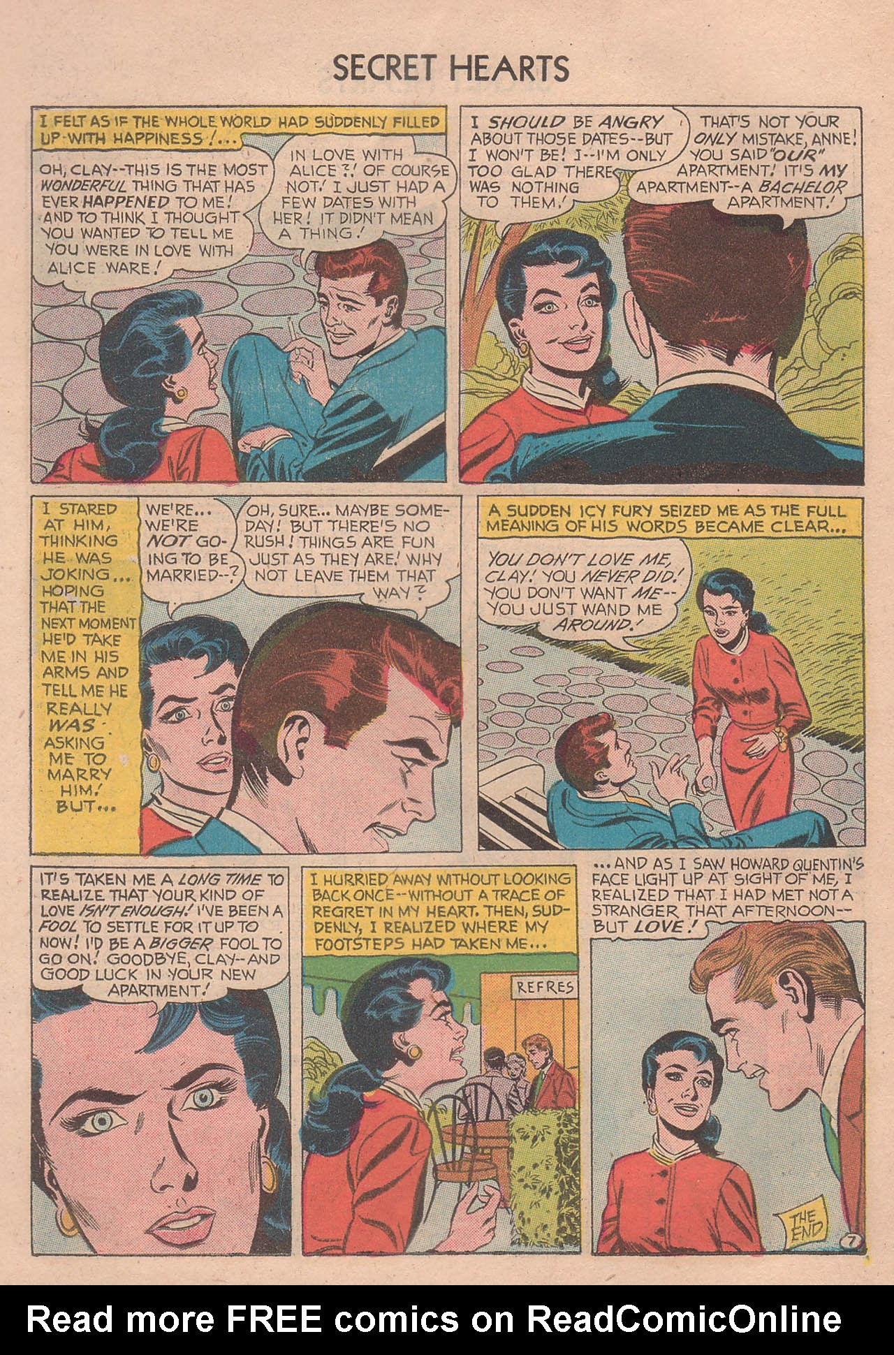Read online Secret Hearts comic -  Issue #39 - 26