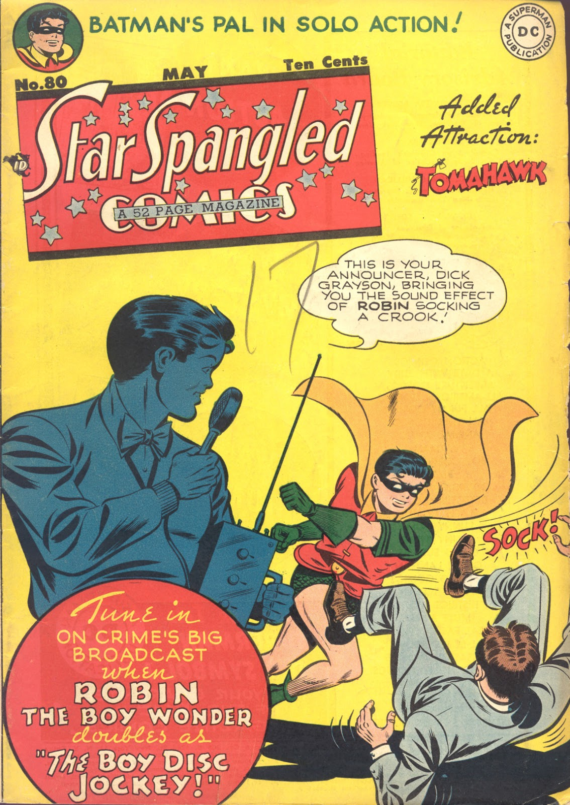 Star Spangled Comics (1941) issue 80 - Page 1