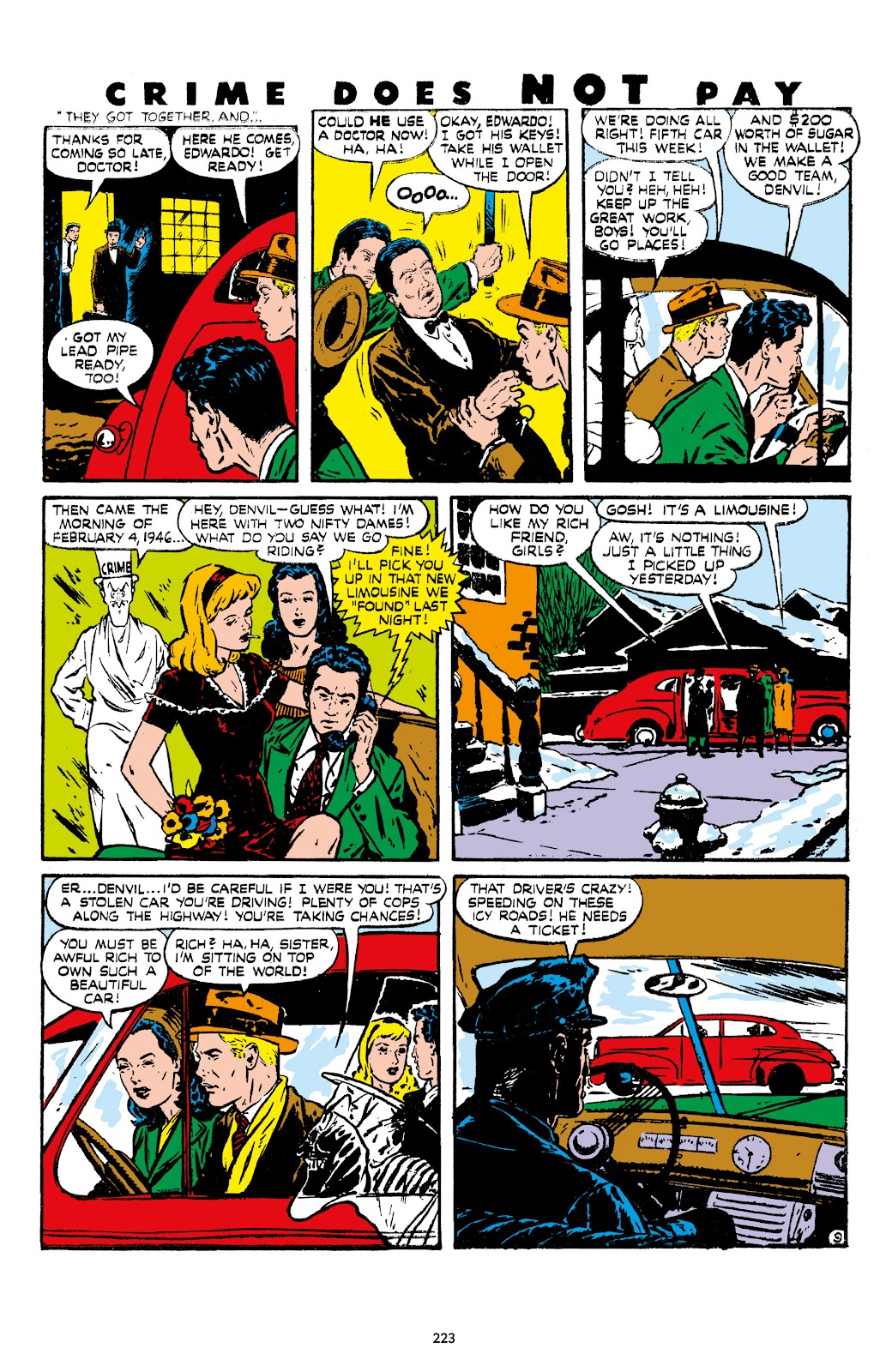 Read online Crime Does Not Pay Archives comic -  Issue # TPB 7 (Part 3) - 24