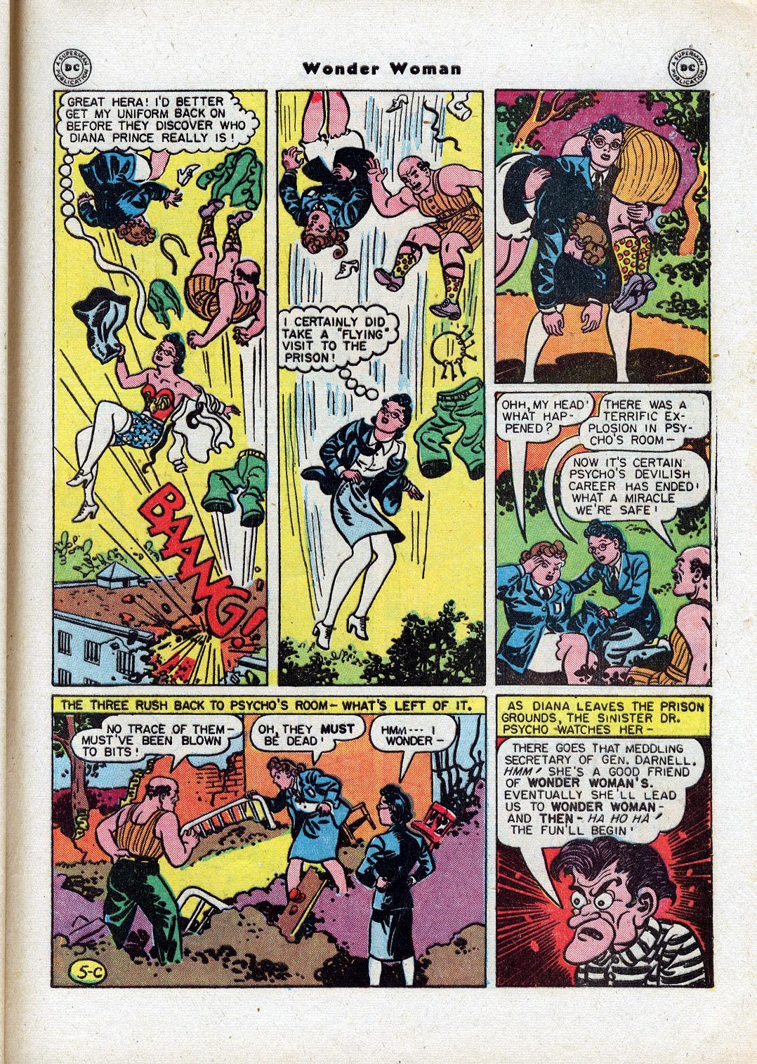 Read online Wonder Woman (1942) comic -  Issue #18 - 43