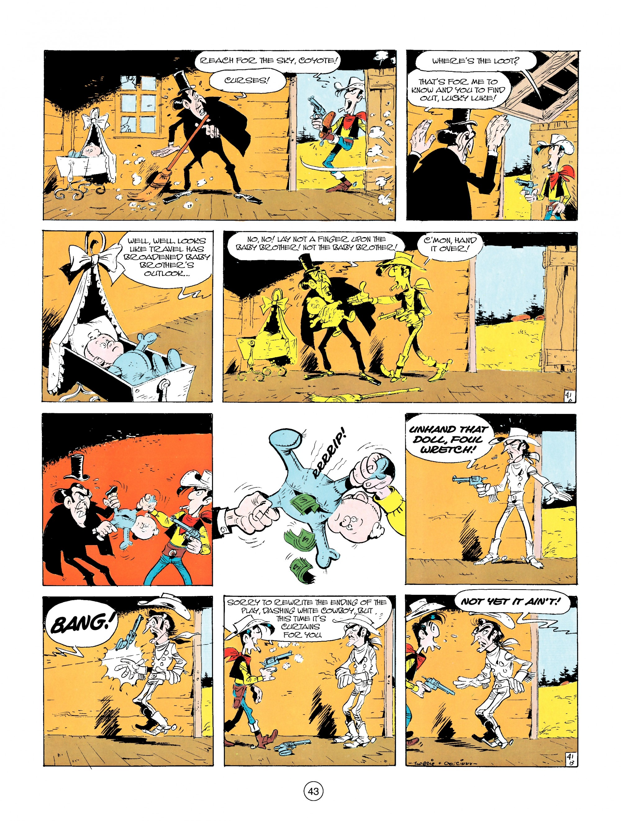 Read online A Lucky Luke Adventure comic -  Issue #14 - 43