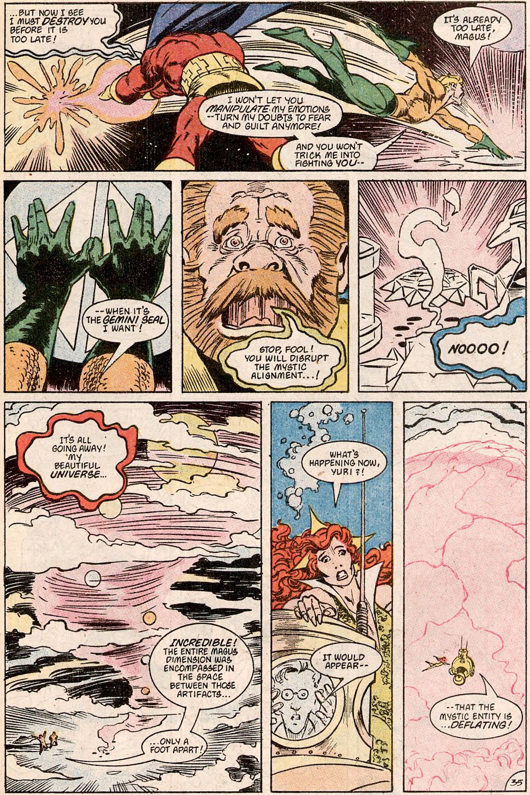 Read online Aquaman Special comic -  Issue #Aquaman Special Full - 36