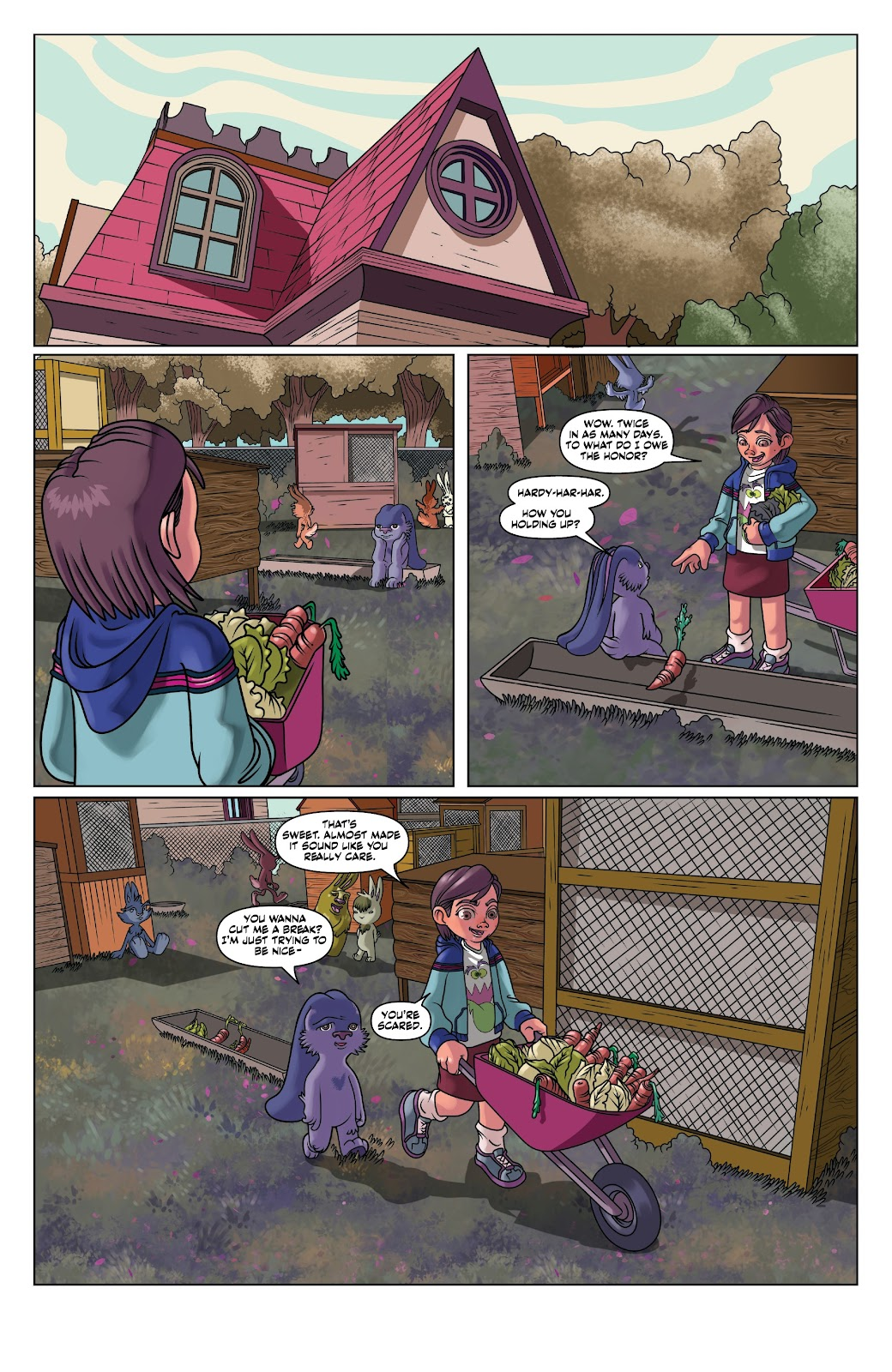 Read online Auntie Agatha's Home For Wayward Rabbits comic -  Issue #4 - 14