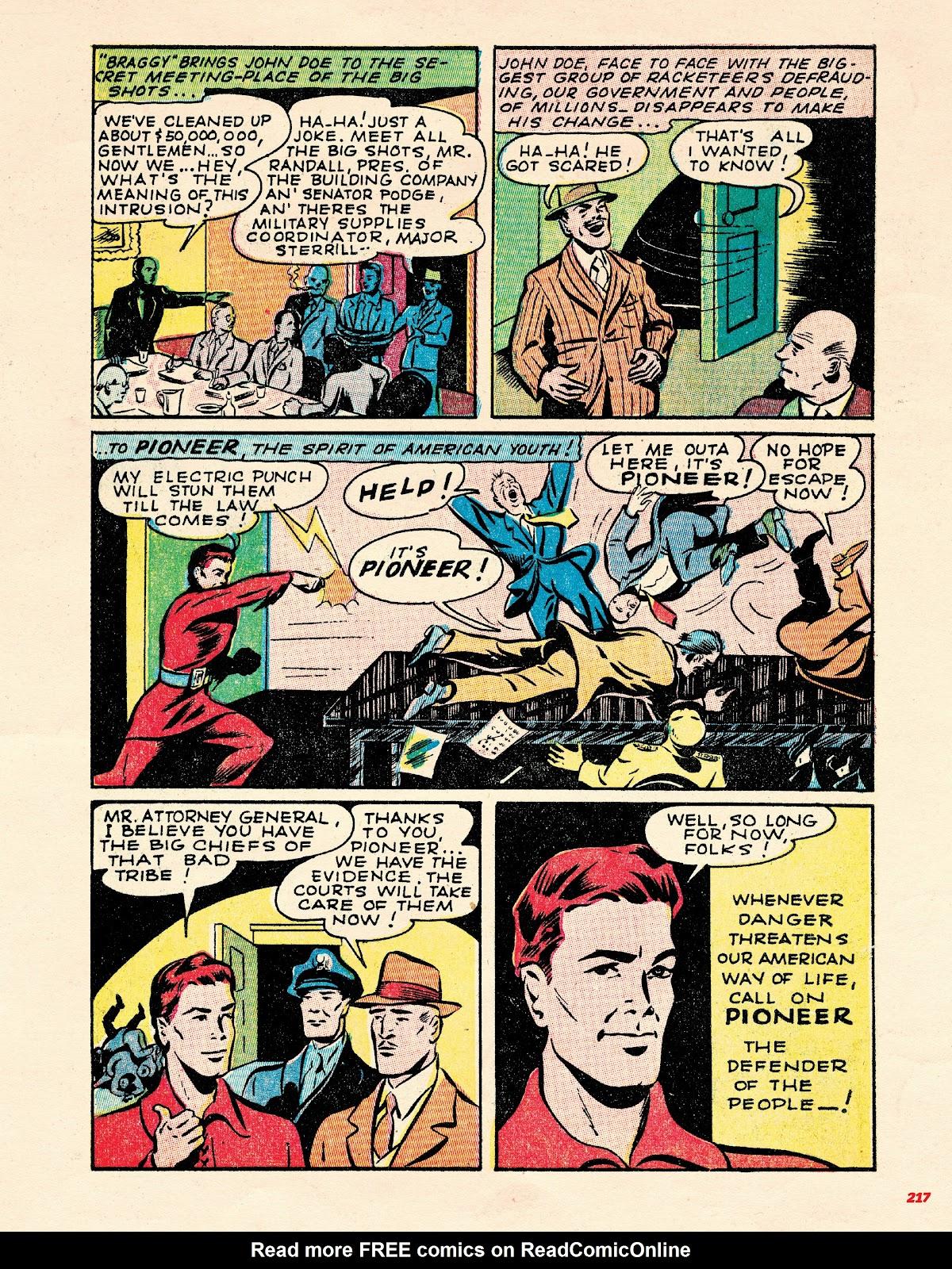 Read online Super Weird Heroes comic -  Issue # TPB 2 (Part 3) - 17