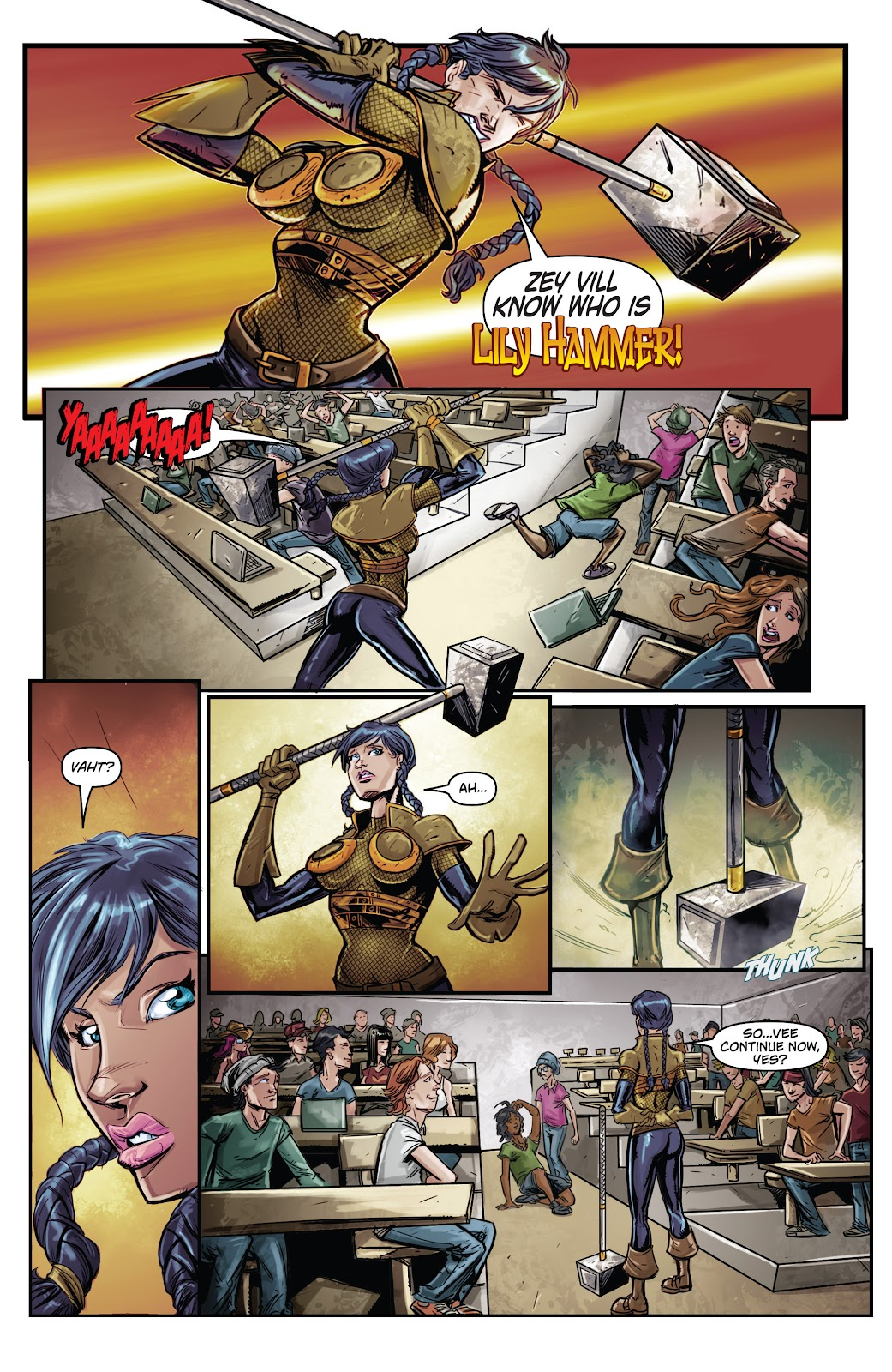 Read online Critter (2015) comic -  Issue #2 - 9