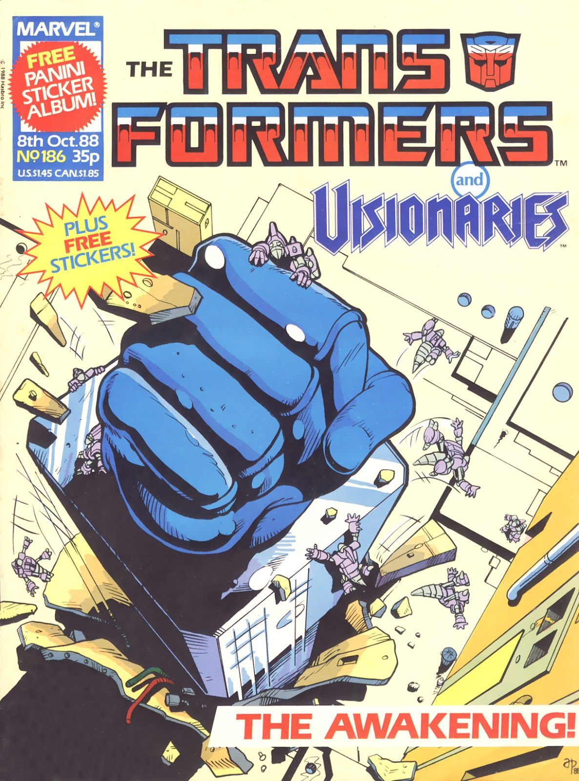The Transformers (UK) 186 Page 1