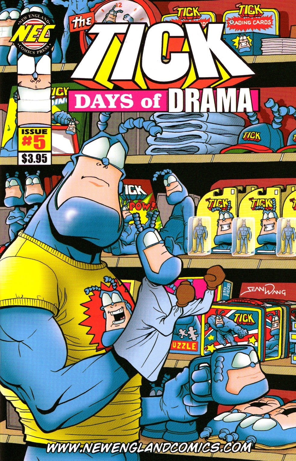 Read online The Tick: Days of Drama comic -  Issue #5 - 1