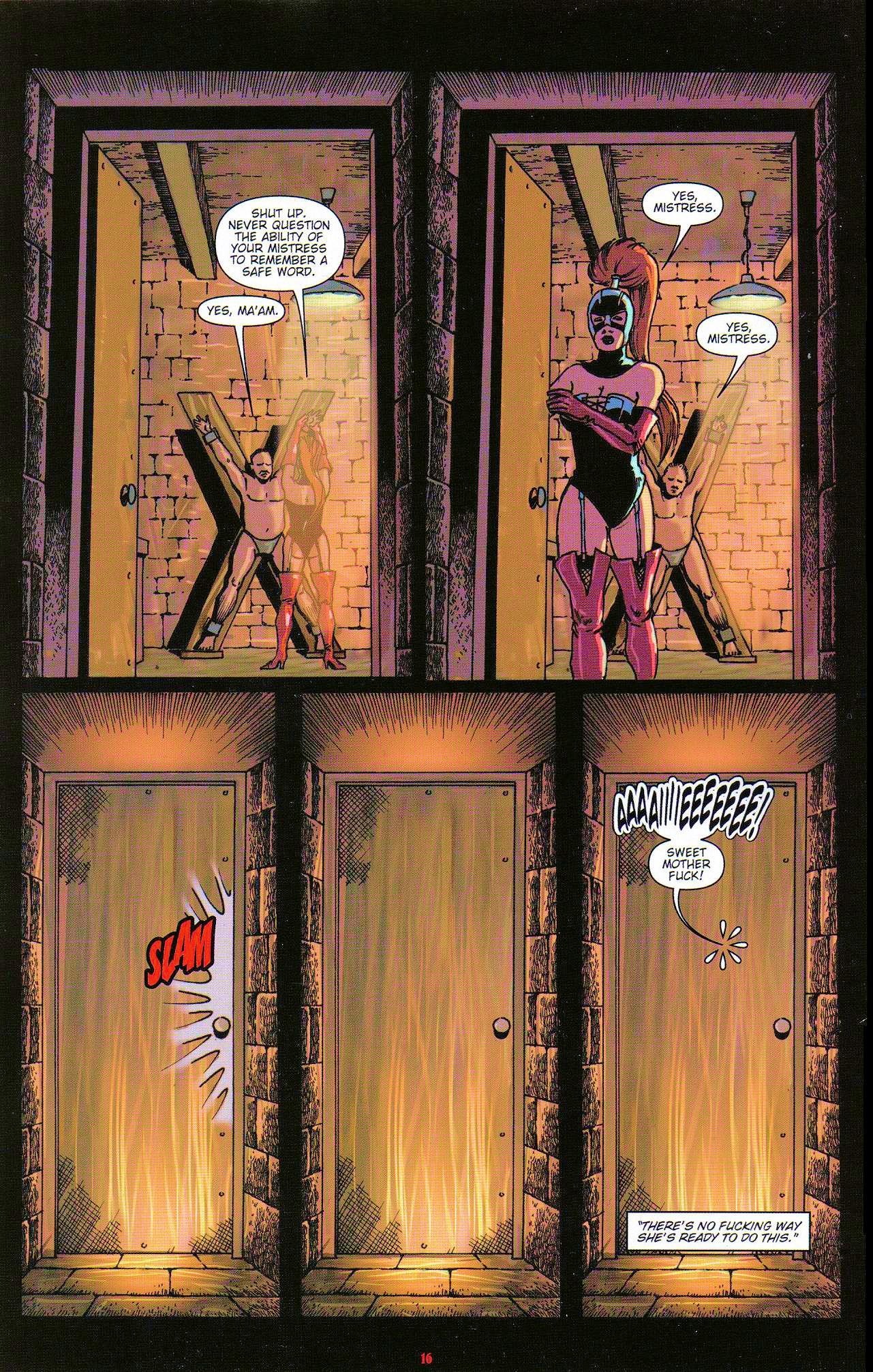Read online Dominatrix comic -  Issue #5 - 18