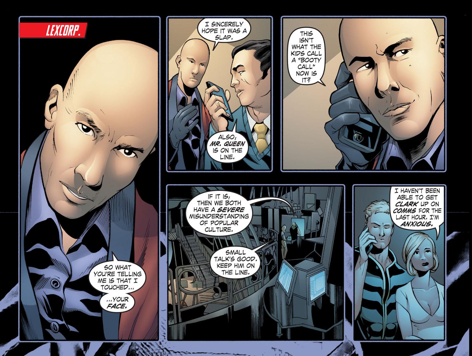 Read online Smallville: Season 11 comic -  Issue #20 - 3
