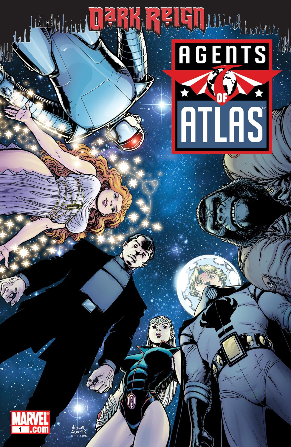 Agents Of Atlas (2009) 1 Page 1