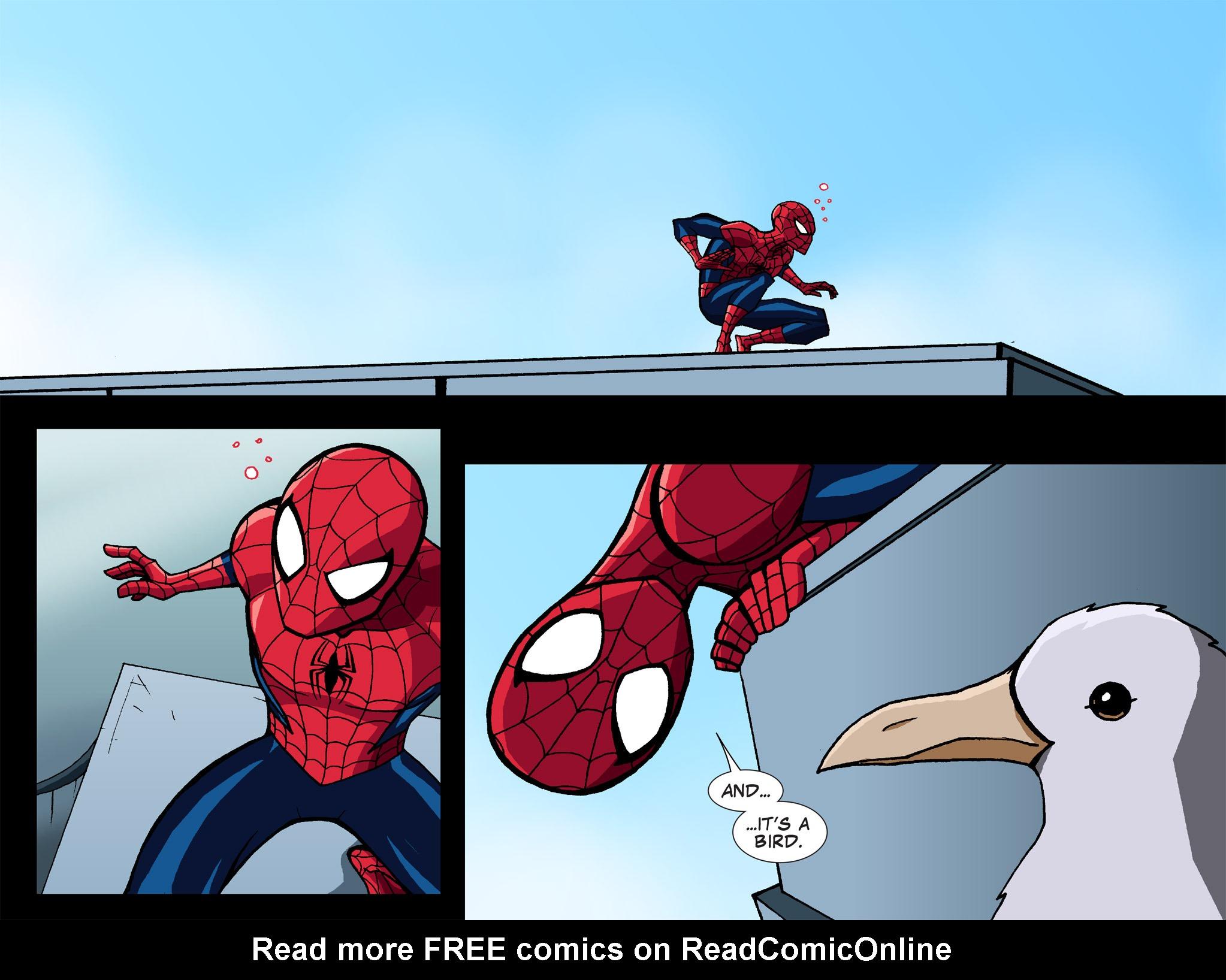 Read online Ultimate Spider-Man (Infinite Comics) (2015) comic -  Issue #1 - 38