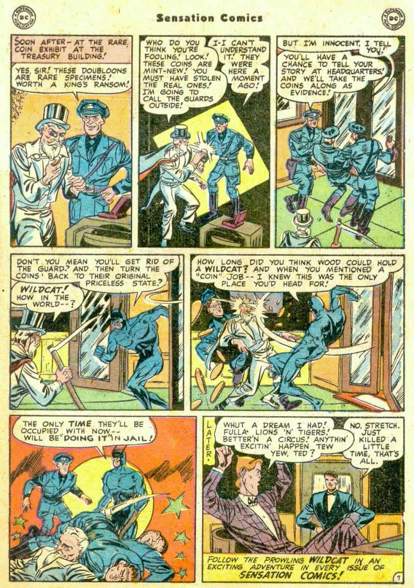 Read online Sensation (Mystery) Comics comic -  Issue #74 - 49