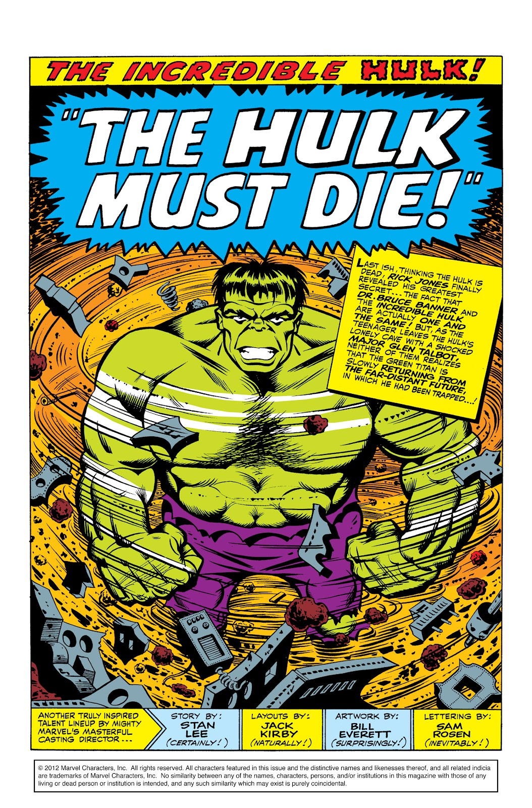 Read online Marvel Masterworks: The Incredible Hulk comic -  Issue # TPB 2 (Part 3) - 23