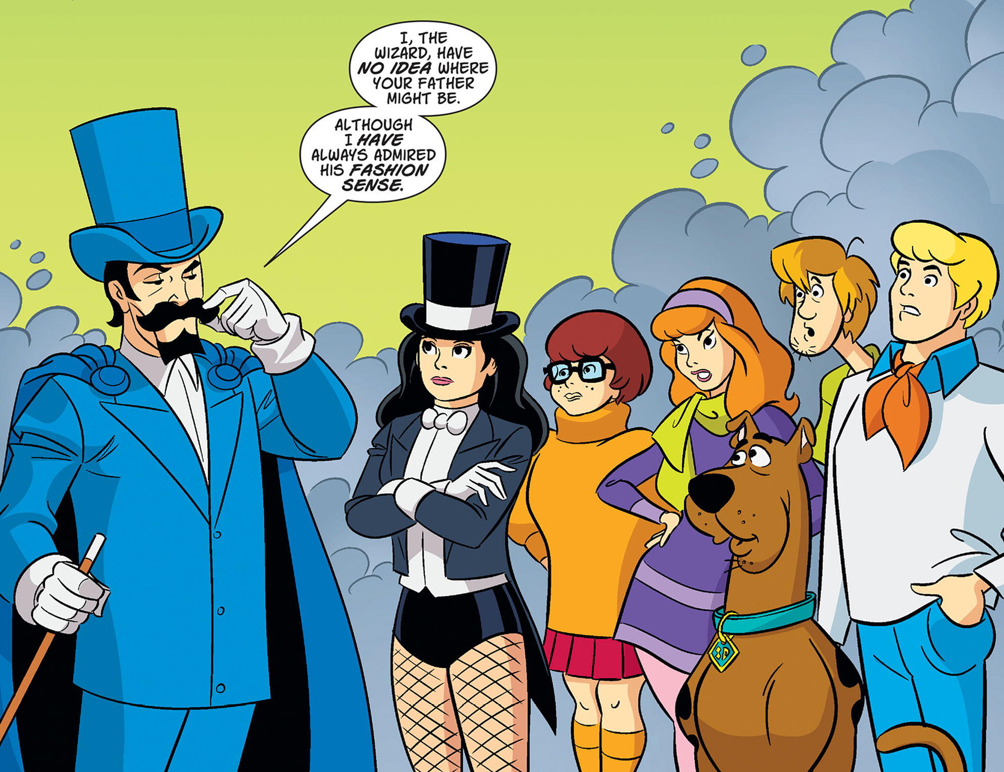 Read online Scooby-Doo! Team-Up comic -  Issue #37 - 21