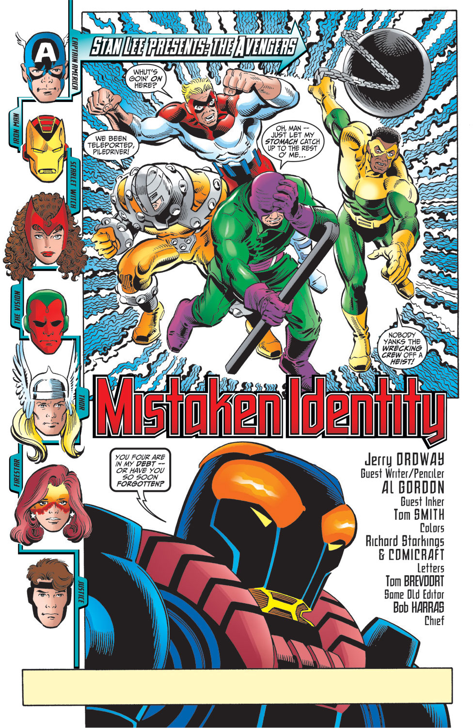 Read online Avengers (1998) comic -  Issue #16 - 2
