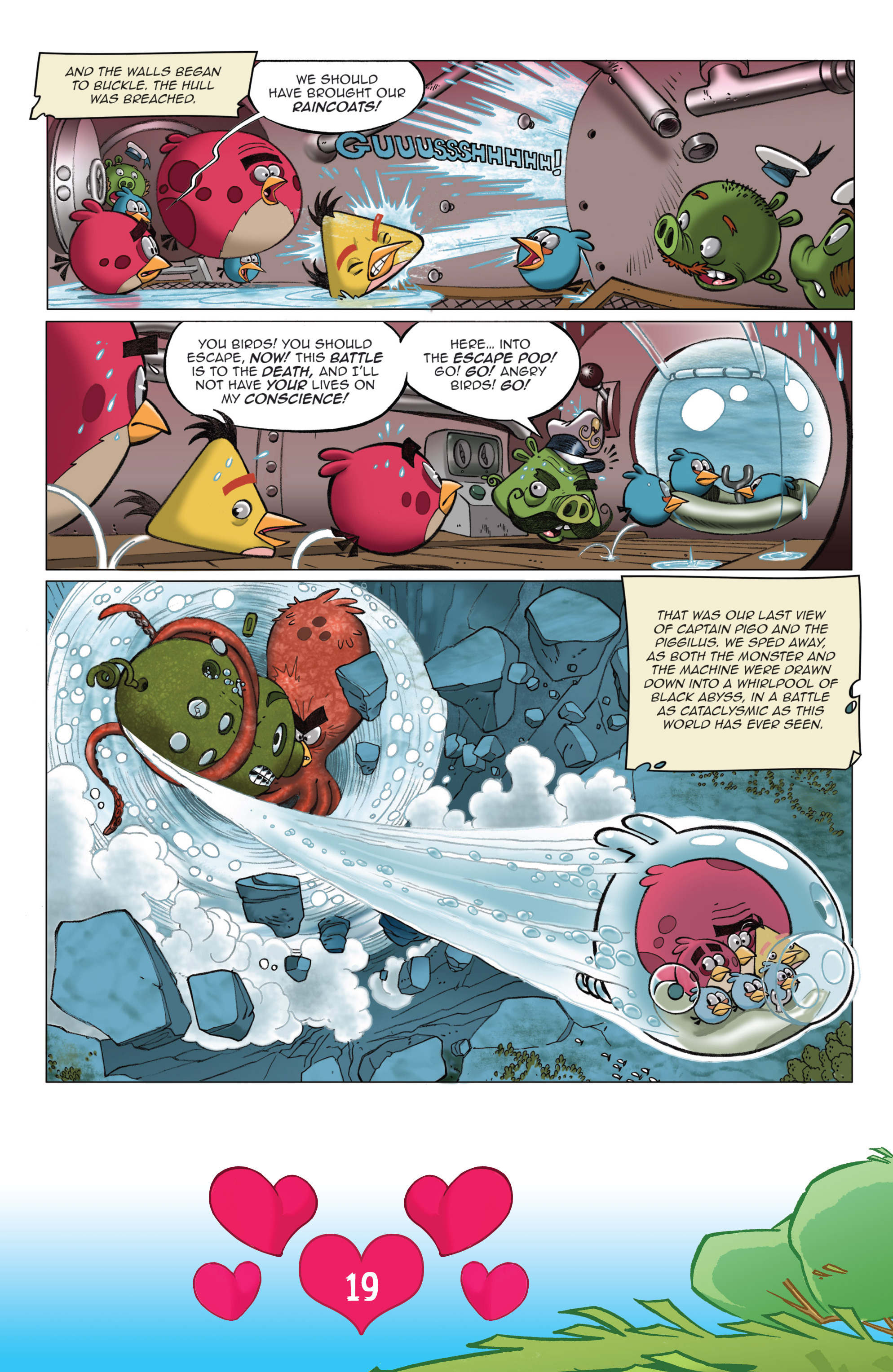 Read online Angry Birds Comics (2016) comic -  Issue #2 - 21