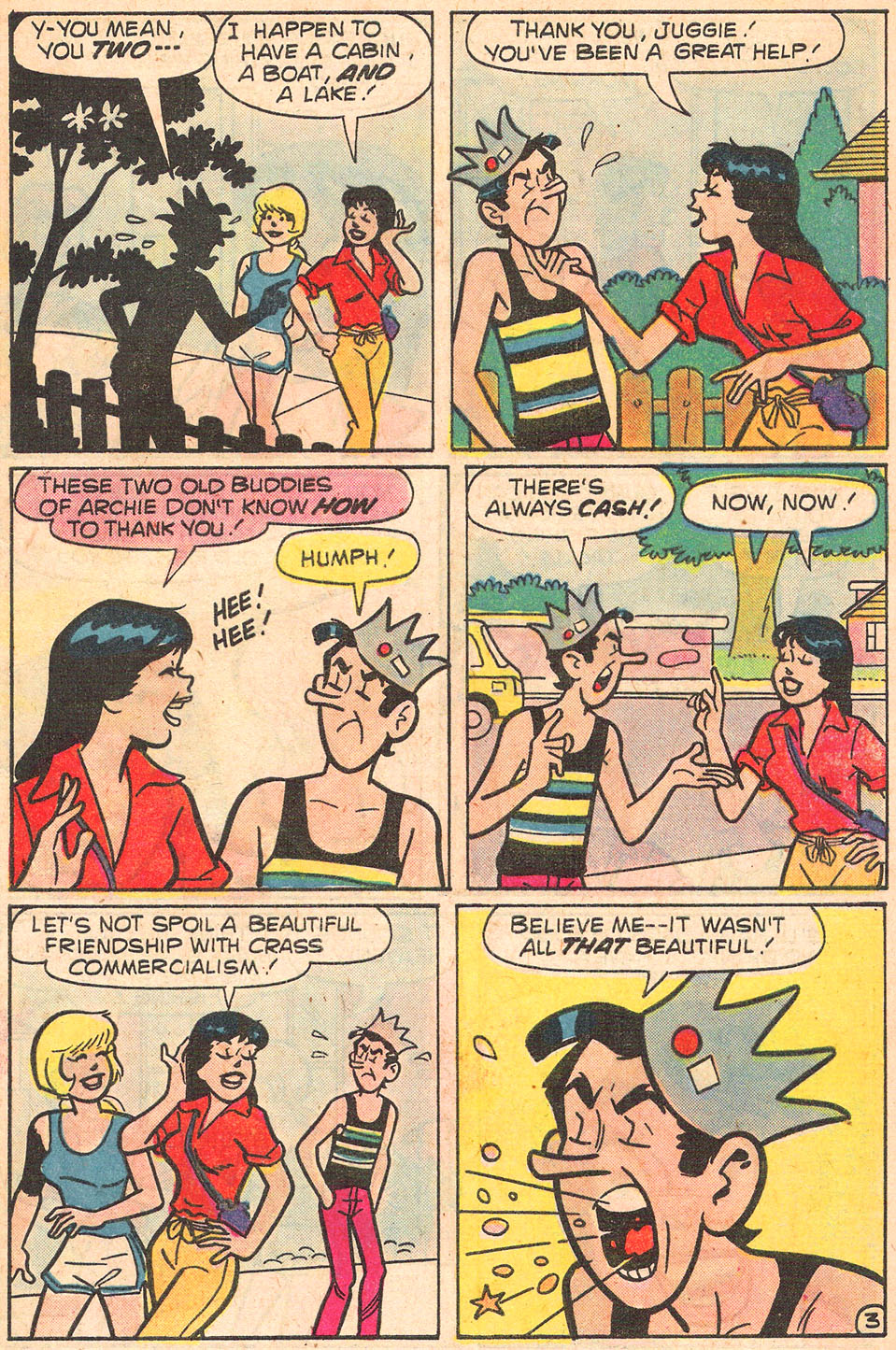 Read online Archie's Girls Betty and Veronica comic -  Issue #274 - 5
