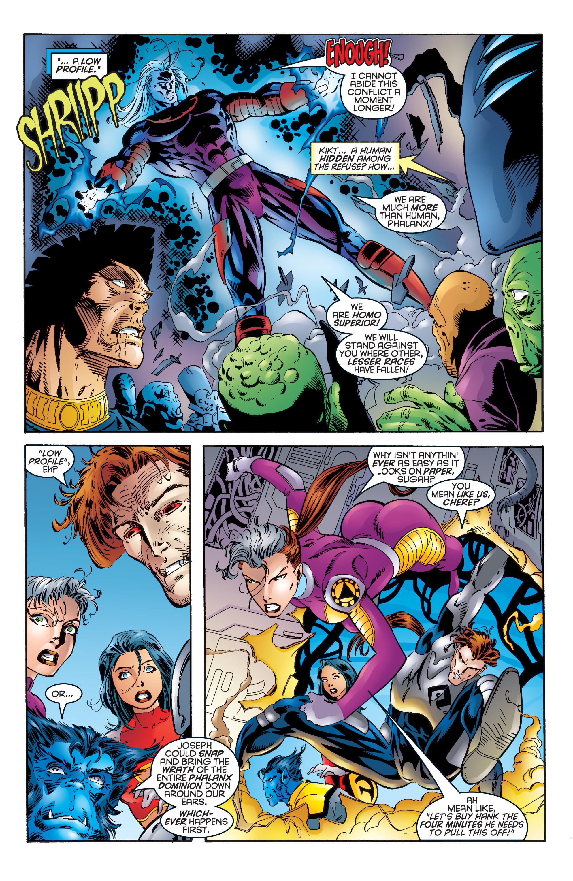 Read online Uncanny X-Men (1963) comic -  Issue #344 - 16