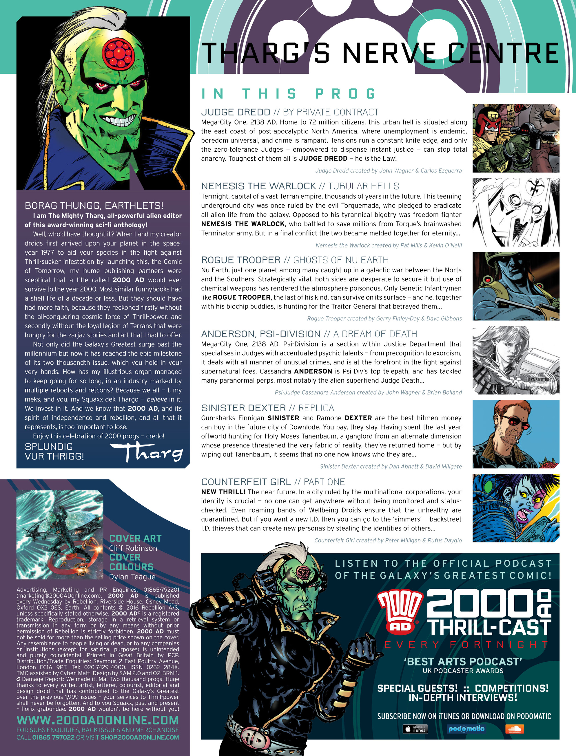 Read online 2000 AD comic -  Issue #2000 - 3