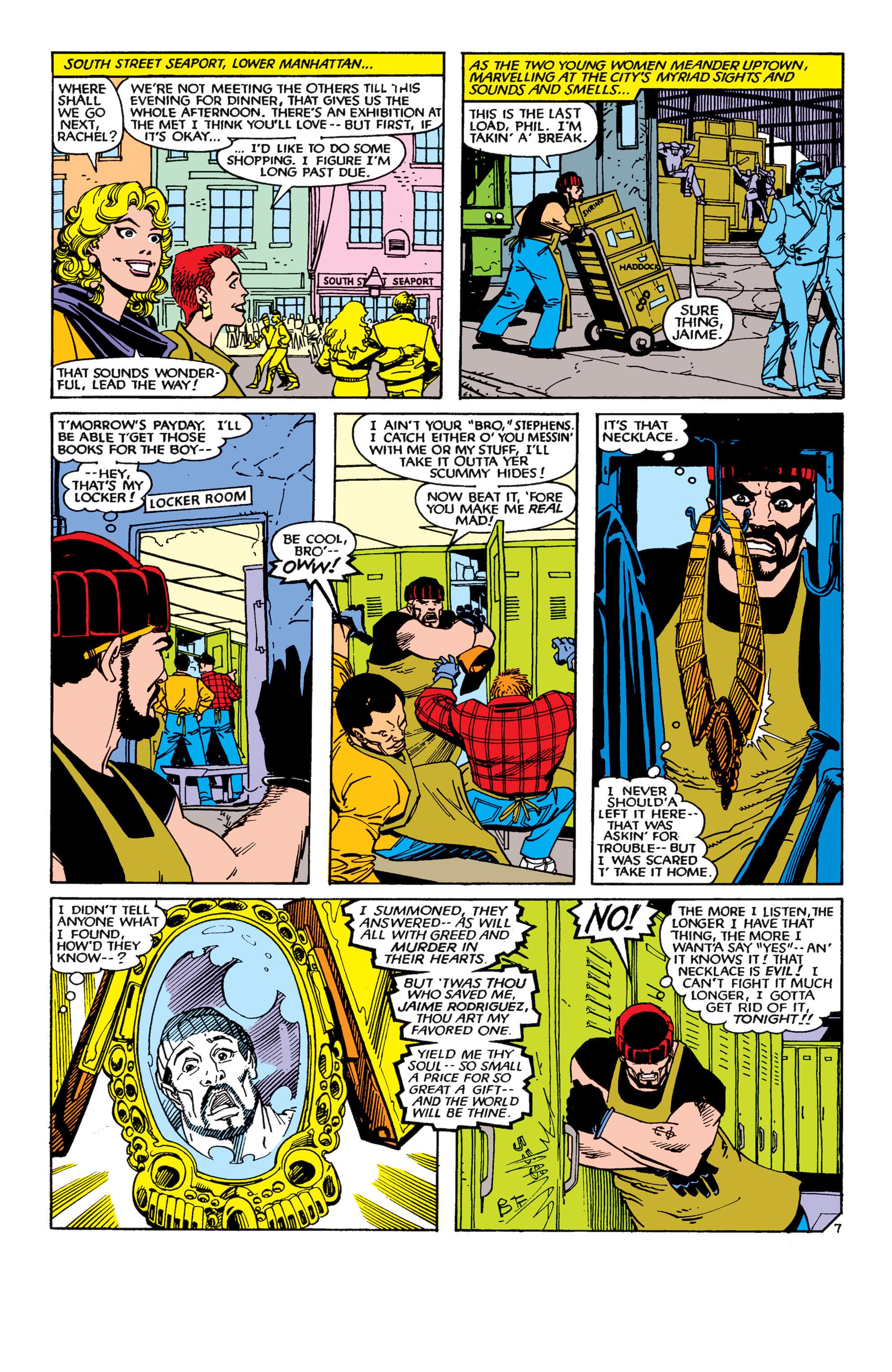 Read online Uncanny X-Men (1963) comic -  Issue #189 - 7