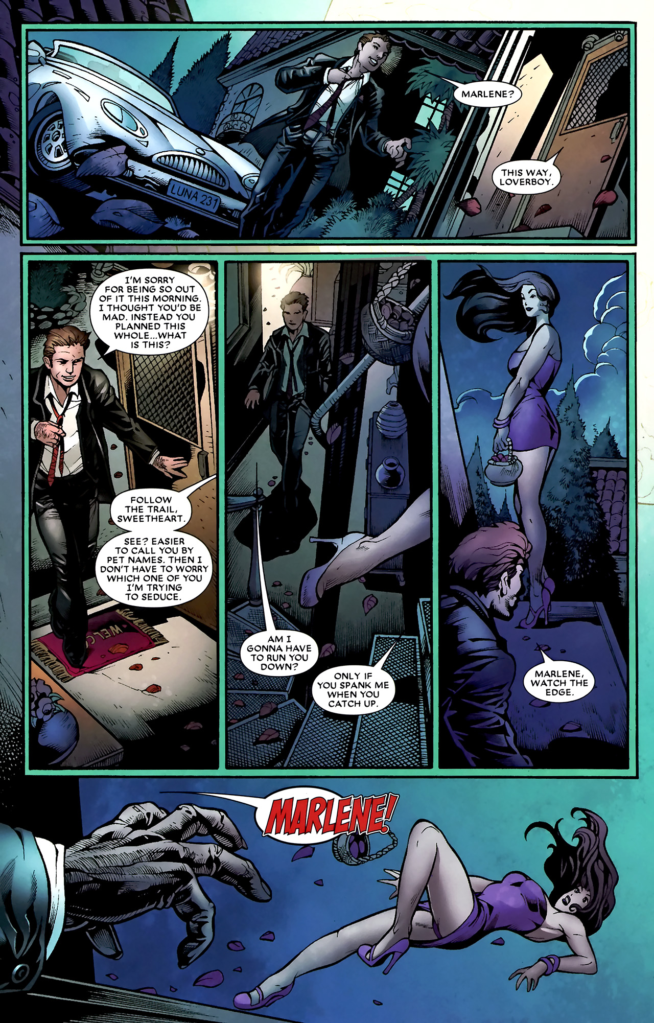 Read online Shadowland: Moon Knight comic -  Issue #1 - 28