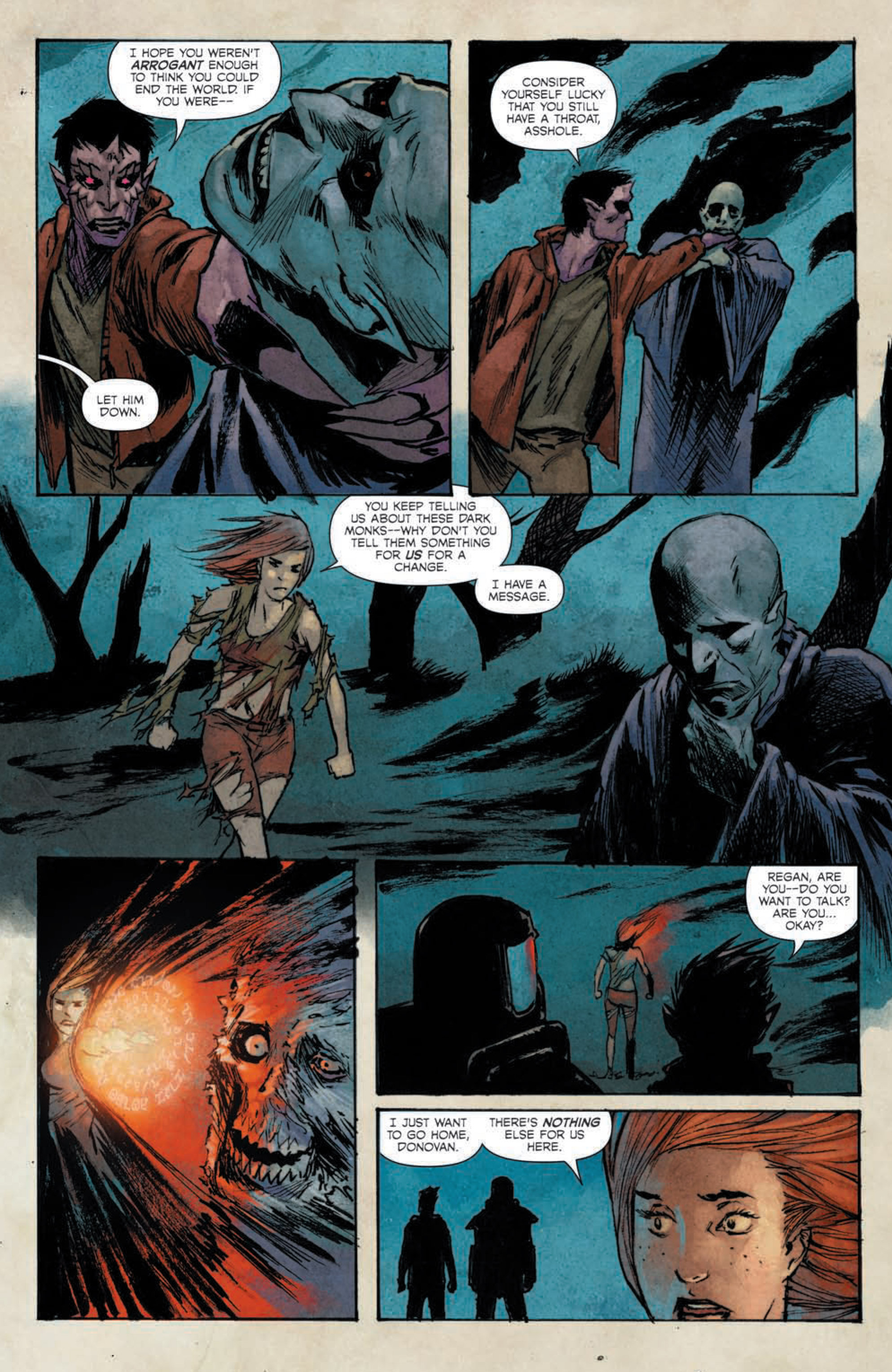 Read online Hoax Hunters (2015) comic -  Issue #5 - 20