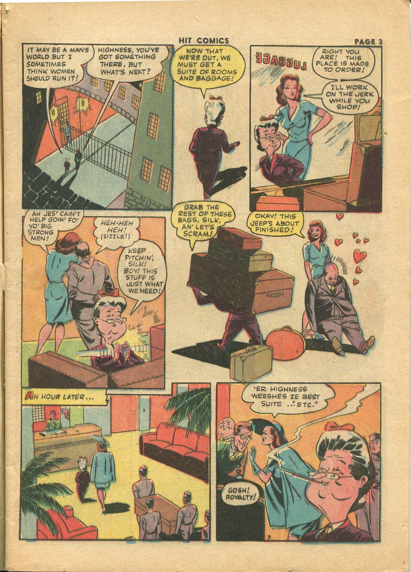 Read online Hit Comics comic -  Issue #28 - 6