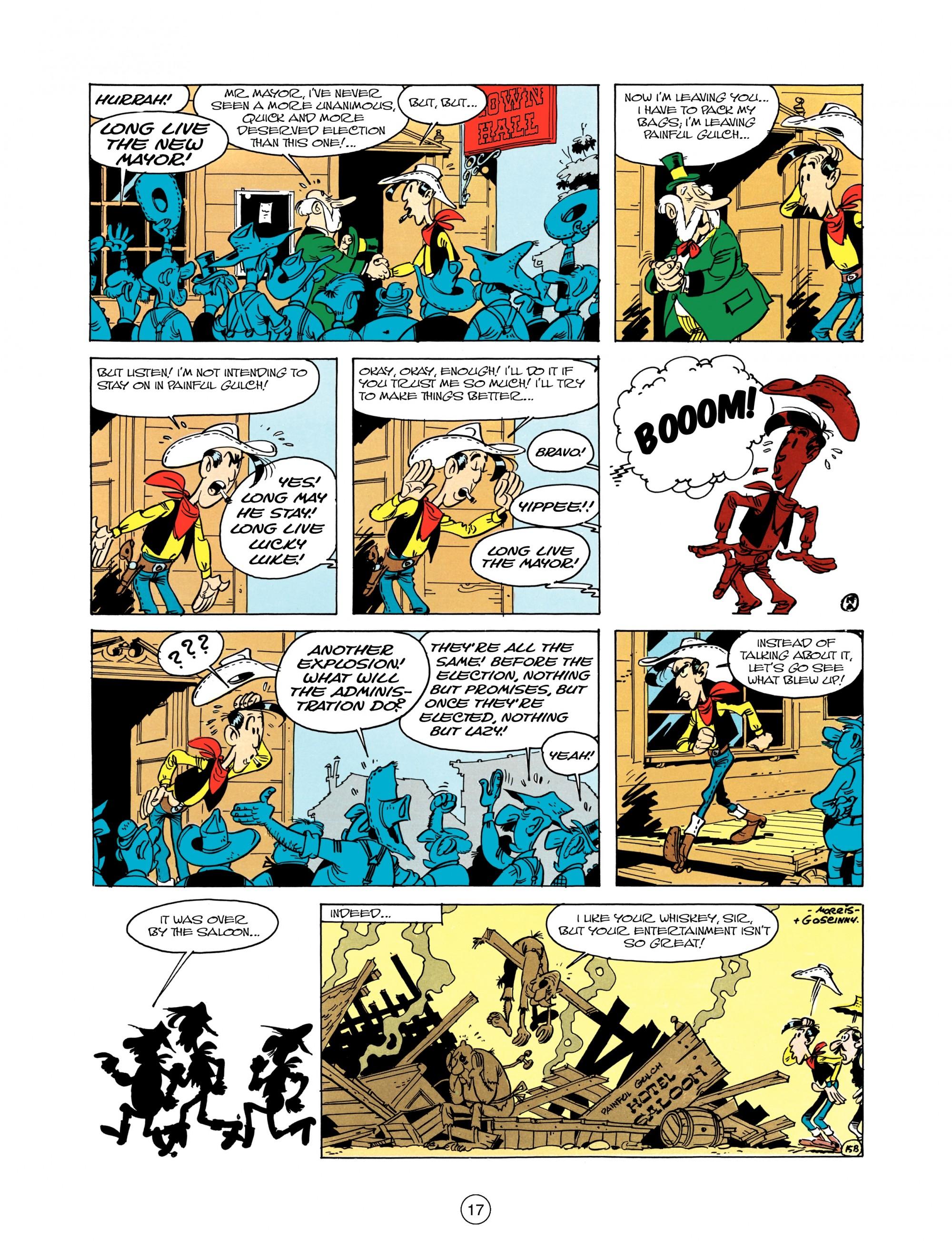 Read online A Lucky Luke Adventure comic -  Issue #12 - 17