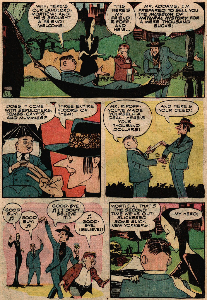 Read online Addams Family comic -  Issue #2 - 8