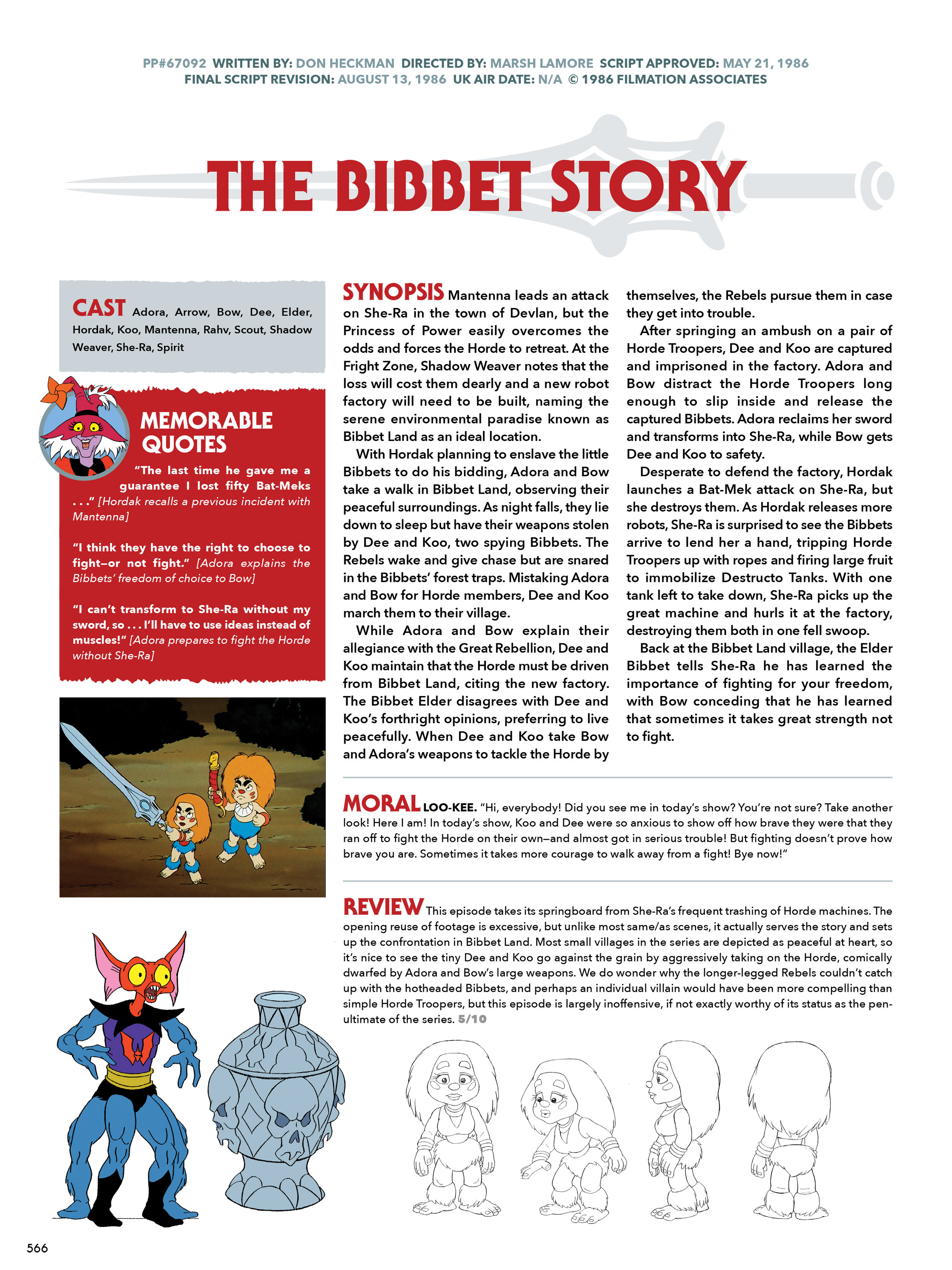 Read online He-Man and She-Ra: A Complete Guide to the Classic Animated Adventures comic -  Issue # TPB (Part 3) - 166