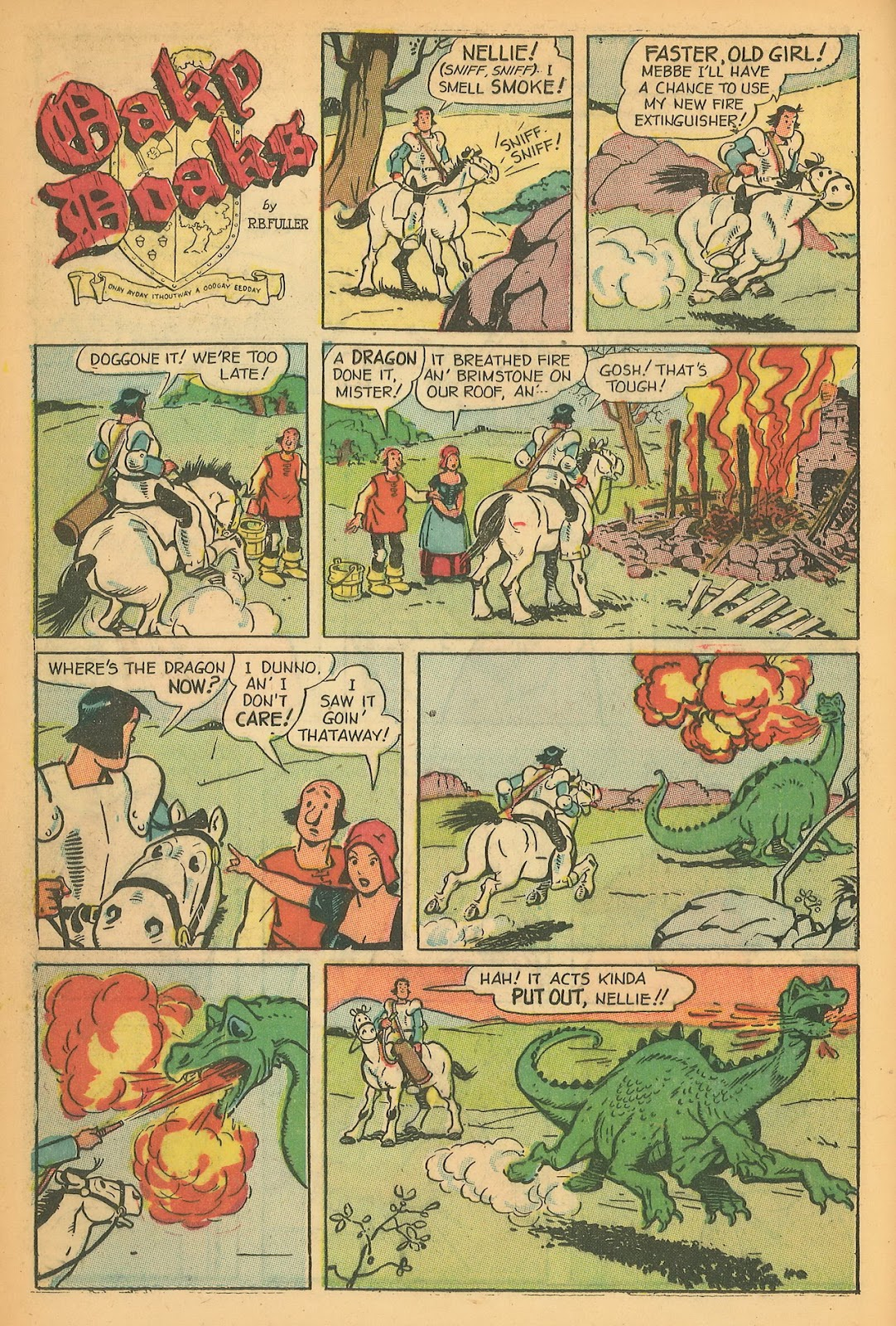 Read online Famous Funnies comic -  Issue #199 - 12