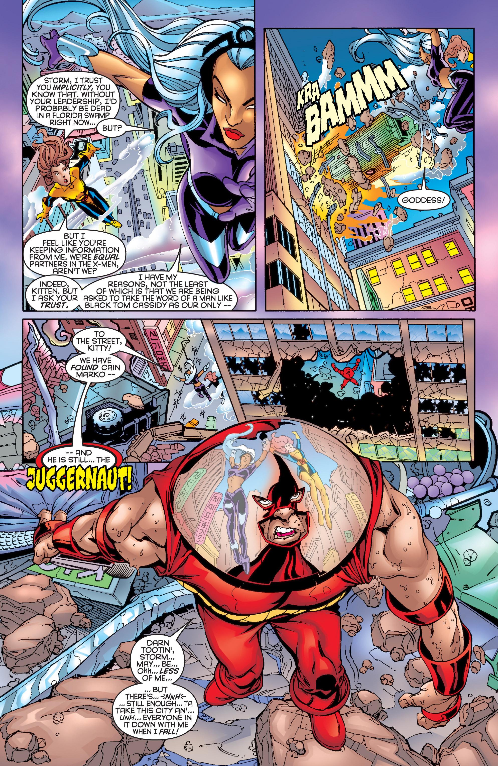 Read online Uncanny X-Men (1963) comic -  Issue #361 - 11