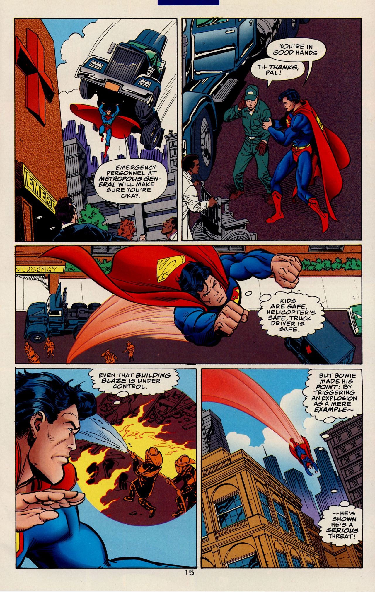 Read online Action Comics (1938) comic -  Issue #728 - 21