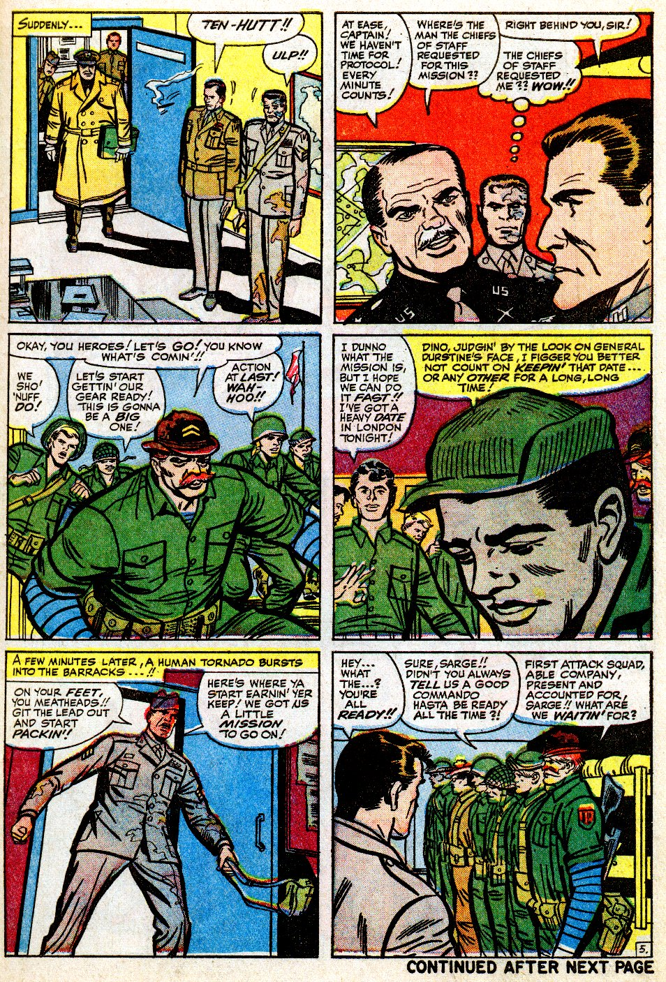 Read online Sgt. Fury comic -  Issue #9 - 7
