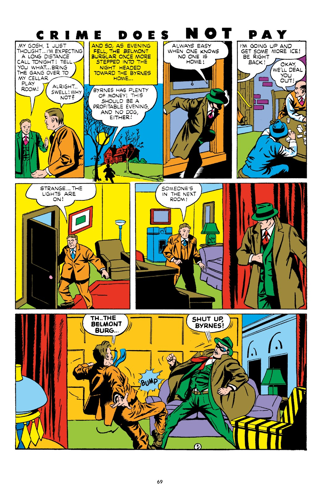Read online Crime Does Not Pay Archives comic -  Issue # TPB 8 (Part 1) - 70