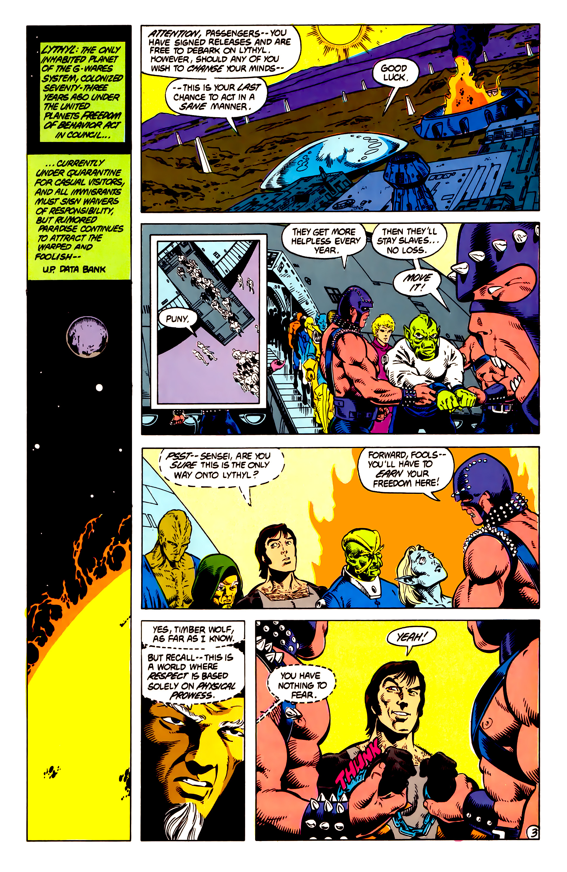 Legion of Super-Heroes (1984) 13 Page 4