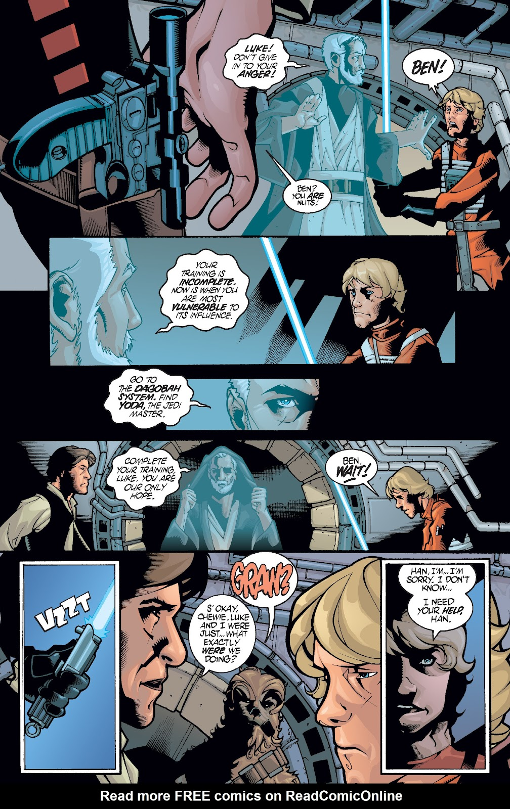 Read online Star Wars Legends: Infinities - Epic Collection comic -  Issue # TPB (Part 1) - 33