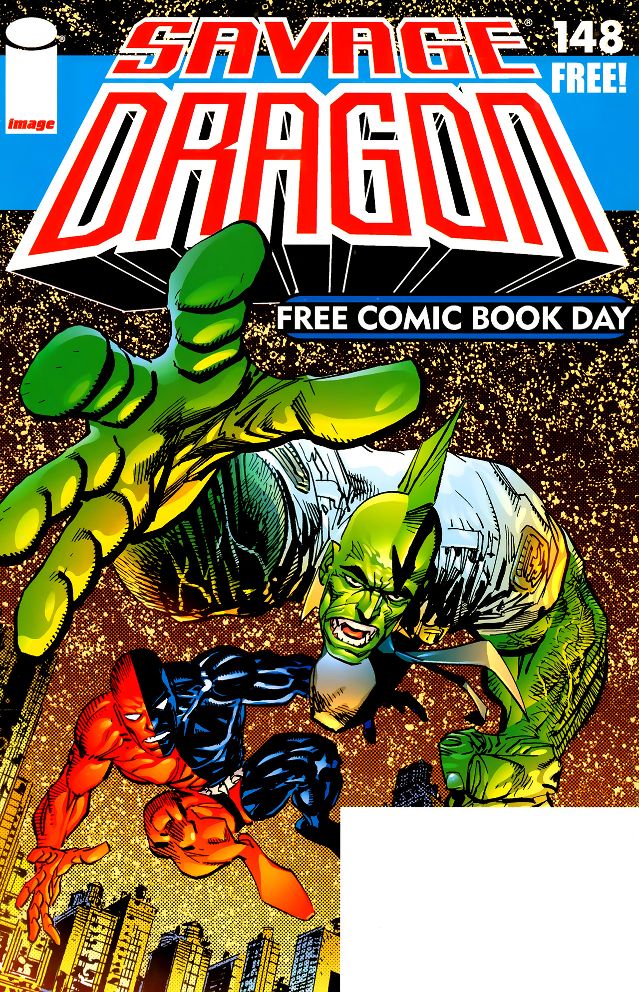 The Savage Dragon (1993) 148 Page 1